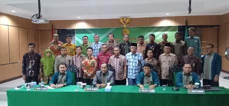Rakor Tindak Lanjut ZI di PTA Palembang: Ketua PA Prabumulih Presentasi Laporan Pembangunan ZI Menuju WBK dan WBBM